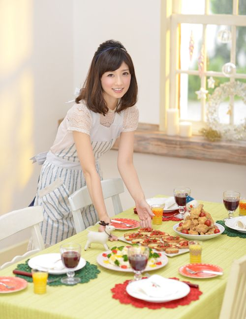 料理がプロ級の小倉優子