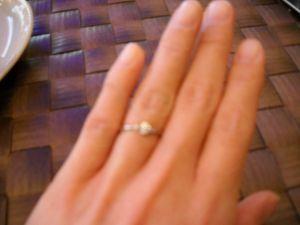 指輪を無くした!