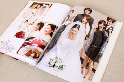 結婚式のアルバムはどうする?大切な思い出を自分らしく残そう!の画像