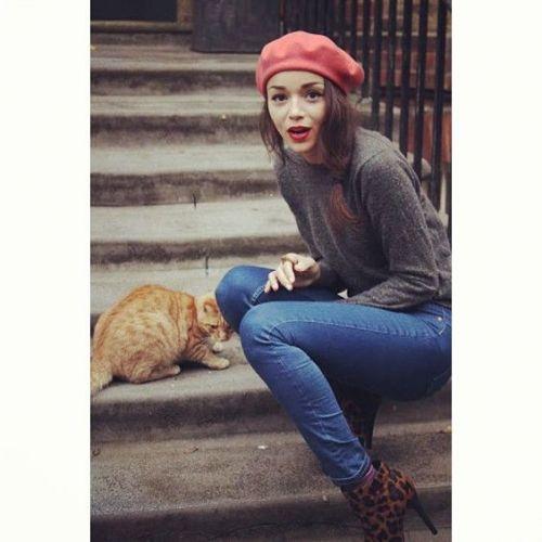 ベレー帽って可愛い☆ベレー帽と合うヘアアレンジをご紹介します!の画像